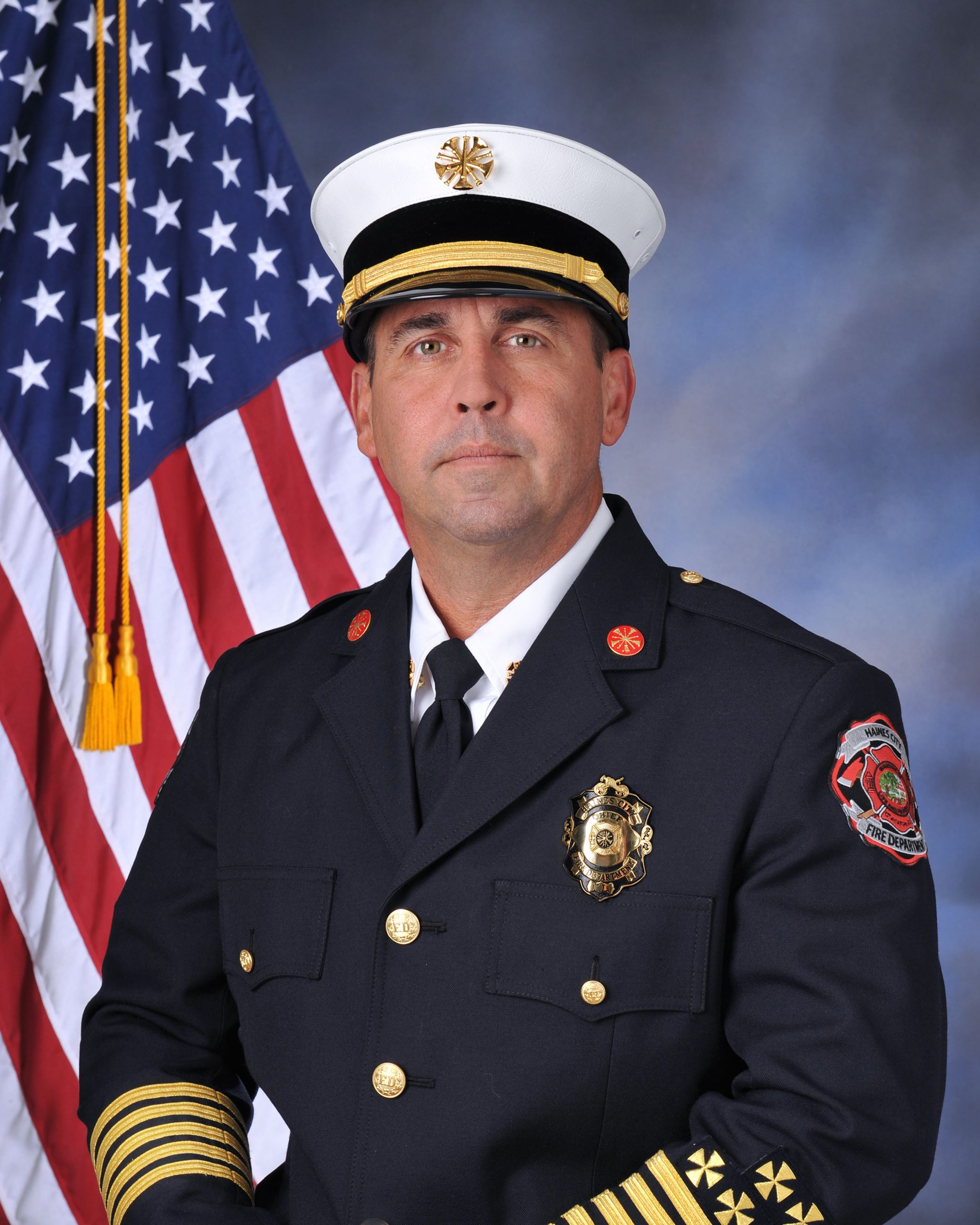 Fire Chief Jeffrey Davidson